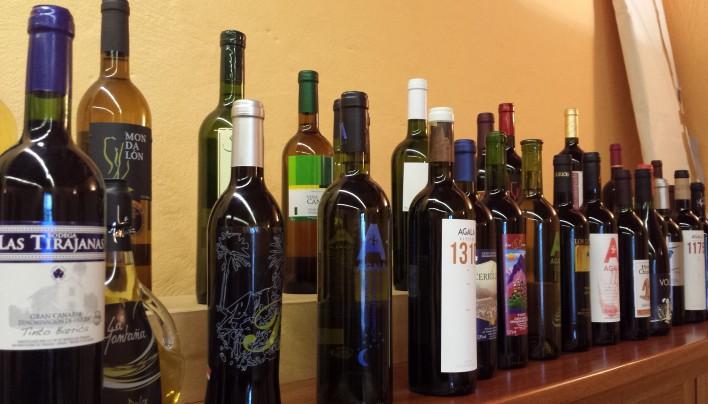 Buscando los vinos de Gran Canarias