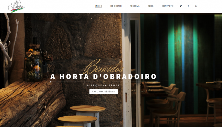 Mi pequeña contribución a un sueño: creación de la web A Horta do Obradoiro